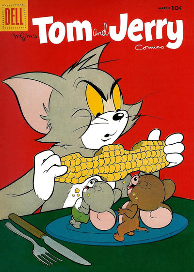 Cover for Tom & Jerry Comics (Dell, 1949 series) #152