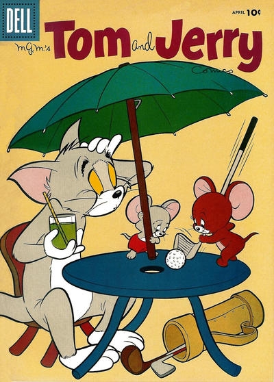 Cover for Tom & Jerry Comics (Dell, 1949 series) #153