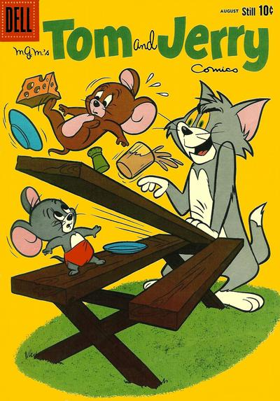 Cover for Tom & Jerry Comics (Dell, 1949 series) #193