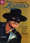 Cover for Walt Disney's Zorro (Dell, 1959 series) #8