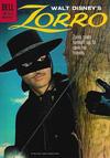 Cover for Walt Disney's Zorro (Dell, 1959 series) #10