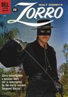 Cover for Walt Disney's Zorro (Dell, 1959 series) #13