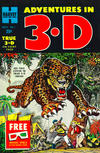 Cover for Adventures in 3-D (Harvey, 1953 series) #1