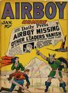 Cover for Airboy Comics (Hillman, 1945 series) #v3#12 [35]