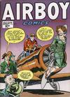 Cover for Airboy Comics (Hillman, 1945 series) #v4#8 [43]