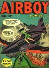 Cover for Airboy Comics (Hillman, 1945 series) #v5#10 [57]
