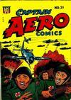 Cover for Captain Aero Comics (Temerson / Helnit / Continental, 1941 series) #21