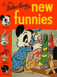 Cover Thumbnail for Walter Lantz New Funnies (Dell, 1946 series) #119