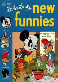 Cover Thumbnail for Walter Lantz New Funnies (Dell, 1946 series) #121
