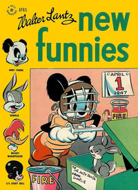 Cover for Walter Lantz New Funnies (Dell, 1946 series) #122
