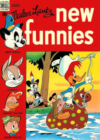 Cover Thumbnail for Walter Lantz New Funnies (Dell, 1946 series) #138