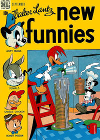 Cover Thumbnail for Walter Lantz New Funnies (Dell, 1946 series) #139
