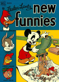 Cover Thumbnail for Walter Lantz New Funnies (Dell, 1946 series) #145