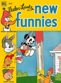 Cover Thumbnail for Walter Lantz New Funnies (Dell, 1946 series) #146