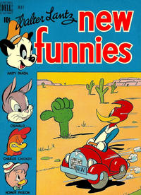 Cover Thumbnail for Walter Lantz New Funnies (Dell, 1946 series) #147