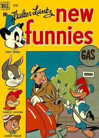 Cover Thumbnail for Walter Lantz New Funnies (Dell, 1946 series) #148