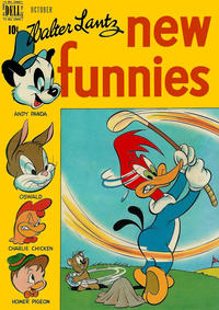 Cover Thumbnail for Walter Lantz New Funnies (Dell, 1946 series) #152