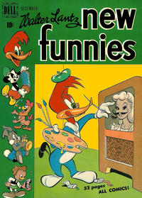 Cover Thumbnail for Walter Lantz New Funnies (Dell, 1946 series) #154