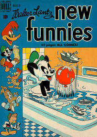 Cover Thumbnail for Walter Lantz New Funnies (Dell, 1946 series) #157