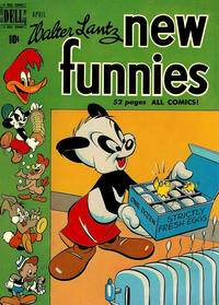 Cover Thumbnail for Walter Lantz New Funnies (Dell, 1946 series) #158