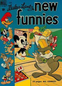 Cover Thumbnail for Walter Lantz New Funnies (Dell, 1946 series) #160