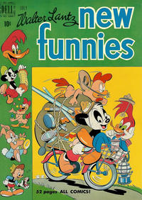 Cover Thumbnail for Walter Lantz New Funnies (Dell, 1946 series) #161