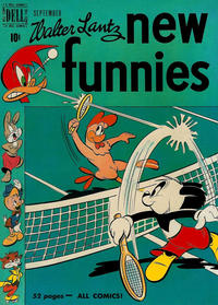 Cover Thumbnail for Walter Lantz New Funnies (Dell, 1946 series) #163