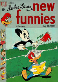 Cover Thumbnail for Walter Lantz New Funnies (Dell, 1946 series) #164