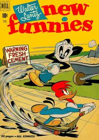Cover Thumbnail for Walter Lantz New Funnies (Dell, 1946 series) #168