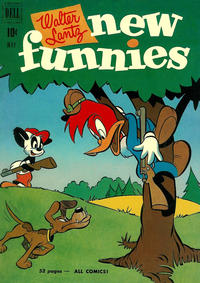 Cover Thumbnail for Walter Lantz New Funnies (Dell, 1946 series) #171