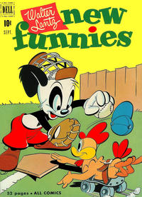 Cover Thumbnail for Walter Lantz New Funnies (Dell, 1946 series) #175