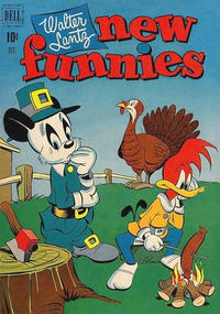 Cover Thumbnail for Walter Lantz New Funnies (Dell, 1946 series) #178