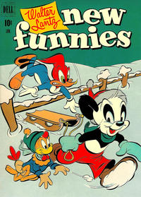 Cover Thumbnail for Walter Lantz New Funnies (Dell, 1946 series) #179