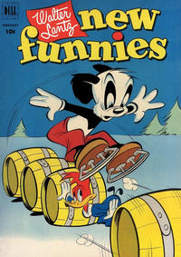 Cover Thumbnail for Walter Lantz New Funnies (Dell, 1946 series) #180