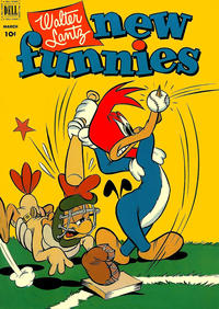 Cover Thumbnail for Walter Lantz New Funnies (Dell, 1946 series) #181