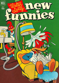 Cover Thumbnail for Walter Lantz New Funnies (Dell, 1946 series) #183