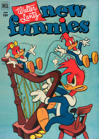 Cover Thumbnail for Walter Lantz New Funnies (Dell, 1946 series) #184