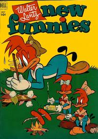 Cover Thumbnail for Walter Lantz New Funnies (Dell, 1946 series) #185