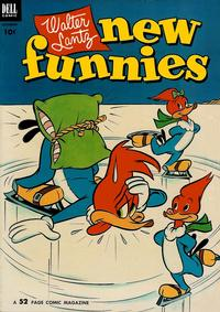 Cover Thumbnail for Walter Lantz New Funnies (Dell, 1946 series) #190