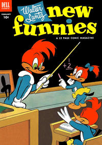 Cover Thumbnail for Walter Lantz New Funnies (Dell, 1946 series) #192