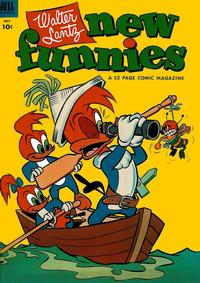 Cover Thumbnail for Walter Lantz New Funnies (Dell, 1946 series) #195