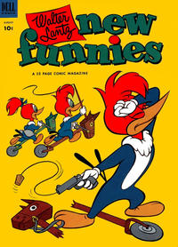 Cover Thumbnail for Walter Lantz New Funnies (Dell, 1946 series) #198