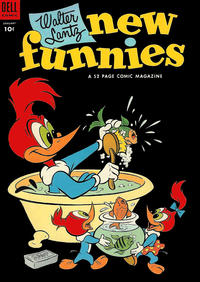 Cover Thumbnail for Walter Lantz New Funnies (Dell, 1946 series) #203
