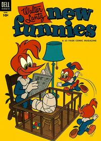 Cover Thumbnail for Walter Lantz New Funnies (Dell, 1946 series) #206
