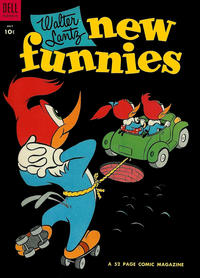 Cover Thumbnail for Walter Lantz New Funnies (Dell, 1946 series) #209