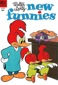 Cover Thumbnail for Walter Lantz New Funnies (Dell, 1946 series) #214