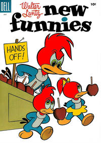 Cover Thumbnail for Walter Lantz New Funnies (Dell, 1946 series) #221