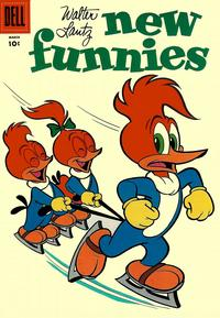 Cover Thumbnail for Walter Lantz New Funnies (Dell, 1946 series) #229