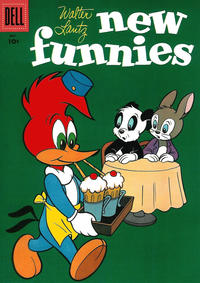 Cover Thumbnail for Walter Lantz New Funnies (Dell, 1946 series) #231