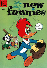 Cover Thumbnail for Walter Lantz New Funnies (Dell, 1946 series) #232